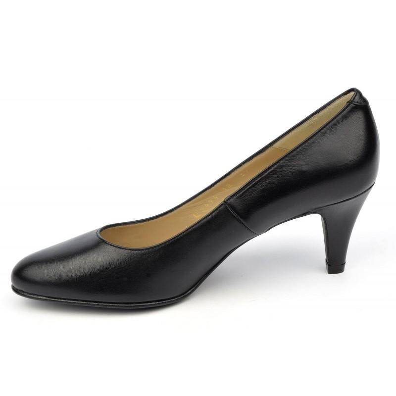 escarpins cuir mate noir cumbia ultim 39 8 souliers. Black Bedroom Furniture Sets. Home Design Ideas