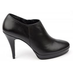 Boots cuir noir mate, Paso Doble